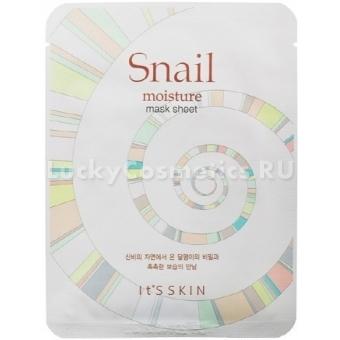 Тканевая маска с улиточным муцином It's Skin Snail Moisture Mask Sheet