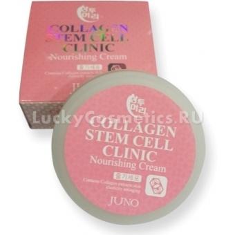 Крем со стволовыми клетками и коллагеном Juno Sangtumeori Stem Cell Clinic Nourishing Cream Collagen