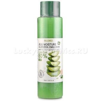 Эмульсия с экстрактом алоэ Blumei Jeju Moisture Aloe 80% Emulsion