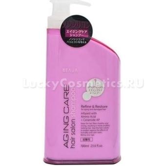 Антивозрастной шампунь для волос Kumano Cosmetics Beaua Aging Care Hair Salon Shampoo