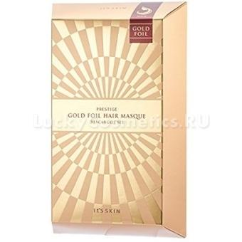 Маска для поврежденных волос It's Skin Prestige Gold Foil Hair Masque D'escargot