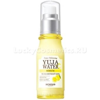 Осветляющая ампульная сыворотка с витамином С Skinfood Yuja Water Serum