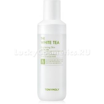 Тонер для яркости тона кожи с экстрактом белого чая Tony Moly The White Tea Brightening Skin