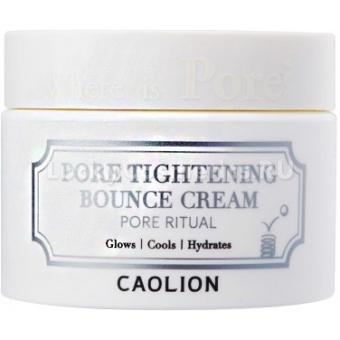 Дневной крем для сужения пор Caolion Pore Tightening Bounce Cream