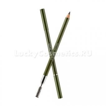 Двусторонний карандаш для бровей Nature Republic By Flower Wood Eyebrow