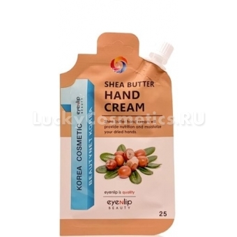 Крем для рук с маслом ши Eyenlip Pocket Pouch Line Shea Butter Hand Cream