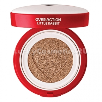 Тональный кушон The Saem Over Action Little Rabbit Love Me Cushion
