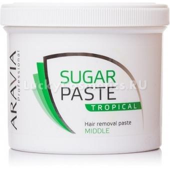 Сахарная паста средней плотности с запахом тропических фруктов Aravia Professional Sugar Paste Tropical