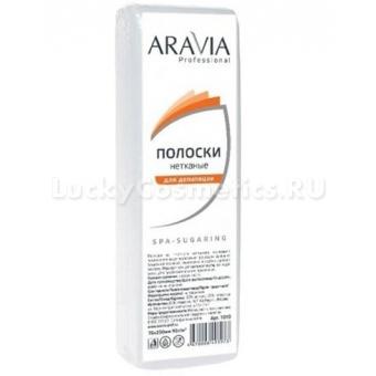 Полоски Aravia Professional полоски для депиляции из нетканого материала Aravia Professional