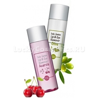 Жидкость для  демакияжа глаз и губ Holika Holika Daily Garden Lip