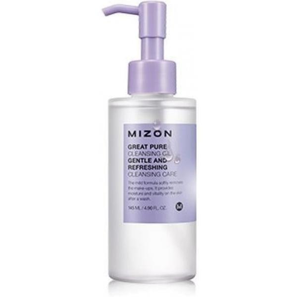 Mizon Great Pure Cleansing OilГидрофильное масло Mizon Great Pure Cleansing Oil создано для удаления макияжа любой сложности. Созданное по особой гиппоалергенной формуле, оно подходит для ухода даже за самой капризной и чувствительной кожей. Растительные экстракты в составе масла смягчают кожу, делая ее нежной и бархатистой.<br>&amp;nbsp;<br><br>&amp;nbsp;<br><br>Способ применения:<br><br>Нанесите масло на сухую кожу, массируйте до полного удаления макияжа, затем смойте теплой водой.<br>