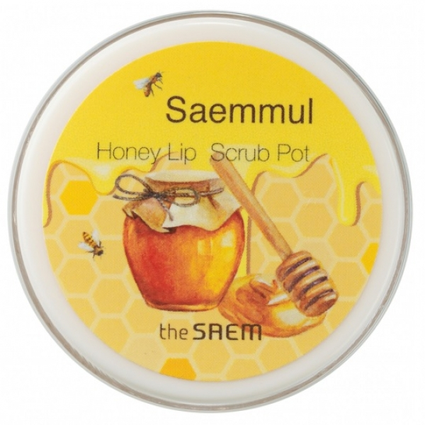 Купить The Saem Saemmul Honey Lip Scrub Pot