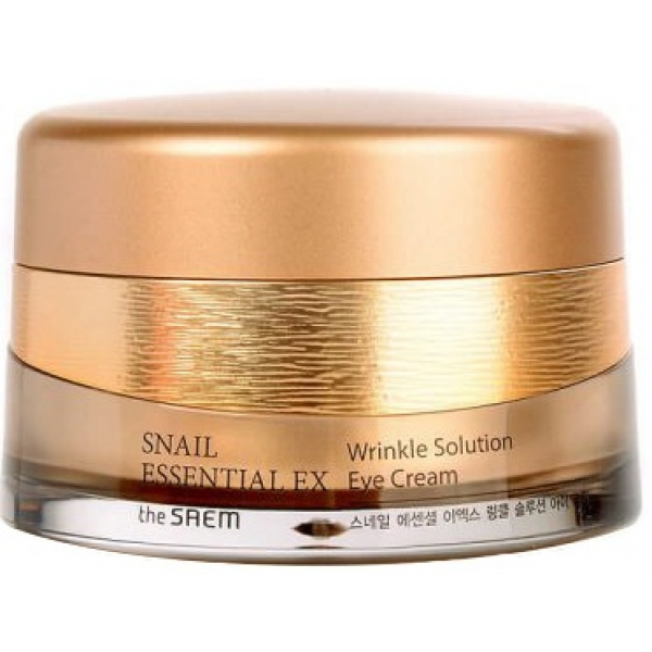Купить The Saem Snail Essential EX Wrinkle Solution Eye Cream