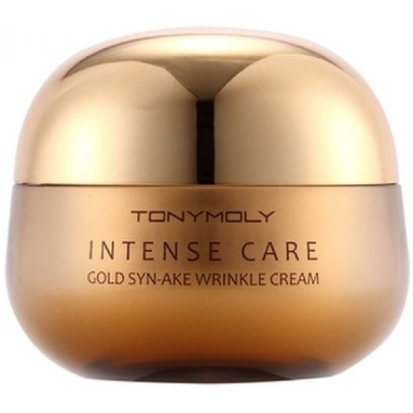 Tony Moly Intense Care Gold SynAke Wrinkle Cream -  Для лица