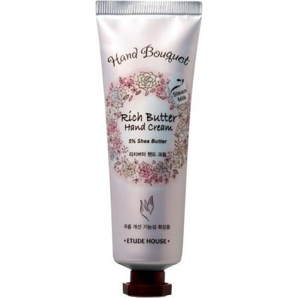 Купить Etude House Hand Bouquet Rich Butter Hand Cream