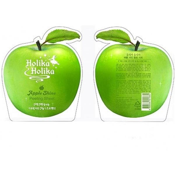 Купить Holika Holika Apple Shine Peeling Sheet