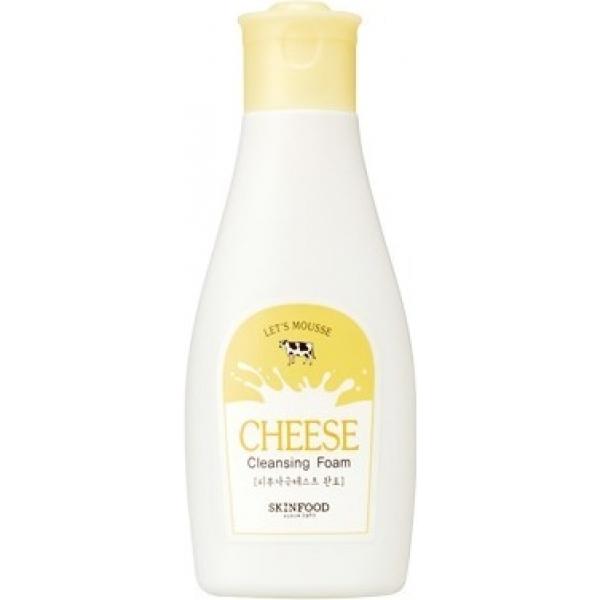 Skinfood Mousse Cheese Cleansing FoamЕсли ваша кожа склонна к сухости, выглядит изможденной и усталой, а утренние процедуры умывания оставляют ощущение дискомфорта и стянутости, то сырная пенка-мусс от Skinfood &amp;ndash; идеальное уход, решающий большинство ваших проблем.<br><br>Ее концентрированный питательный состав обеспечит кожу необходимыми веществами еще в процессе умывания, смягчит и успокоит ее, уберет раздражения, возникающие как реакция на состав водопроводной воды. Сырный экстракт сдержит аминокислоты и протеины, стимулирующие рост клеток и восстанавливающие барьерные свойства кожи, минералы, витамины и жирные кислоты, необходимые для построения защитного липидного слоя.<br><br>Идеальное средство для очищения зрелой кожи, которая нуждается в увлажнении на каждом этапе ухода. Хороший выбор для обладательниц гиперреактивной сухой кожи, склонной к раздражениям.<br><br>&amp;nbsp;<br><br>Объём: 130 мл<br><br>&amp;nbsp;<br><br>Способ применения:<br><br>Взбейте густую пенку-мусс ладонями и приложите их к лицу, проведите микромассаж пузырьками в течение трех минут, пока шапка пены не осядет. Повторное очищение может быть необходимо участкам с расширенными порами в зоне Т.<br>