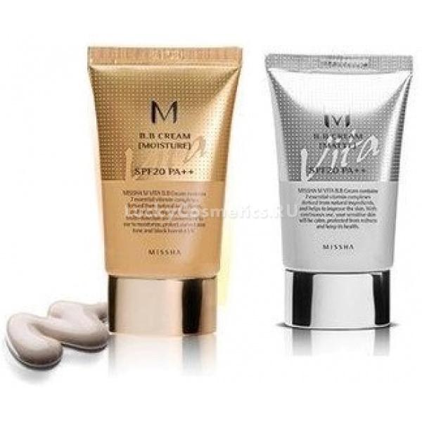 База для макияжа Missha M Vita BB Cream SPF 20/PA++Данное средство может быть использовано и как бб крем, и как база для макияжа. Средство представлено в 2ух вариантах: Matte - матирущий эффект для жирной кожи, оно не только маскирует, но и залечивает прыщики, и Moisture - увлажнение и питание для сухой кожи. Средство содержит корень софоры и экстракт грейпфрута, которые обеспечивают хорошее увлажнение и уменьшение акне, рубцов и прочих несовершенств кожи. Также в средстве содержится насыщающий кожу витаминный комплекс Nano Vita (C, E, F, B3, B5, H, Q). ББ крем-основа не «плывёт», а после его применения лицо приобретает натуральный и свежий вид, кожа выглядит ровной и красивой. Missha M Vita Matte BB Cream SPF 20/PA++ производится в одном бежевом оттенке, но легко подстраивающемся под любой тон.Объём: 20 млСпособ применения:Нужно использовать совсем мало лёгкой базы, а распределять её следует только по чистому лицу.<br>
