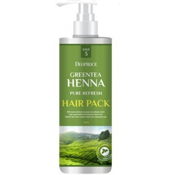 Greentea Henna Pure Refresh Hair Pack