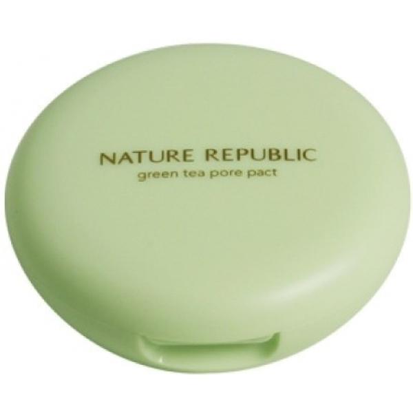 Купить Nature Republic Botanical Green Tea Pore Pact