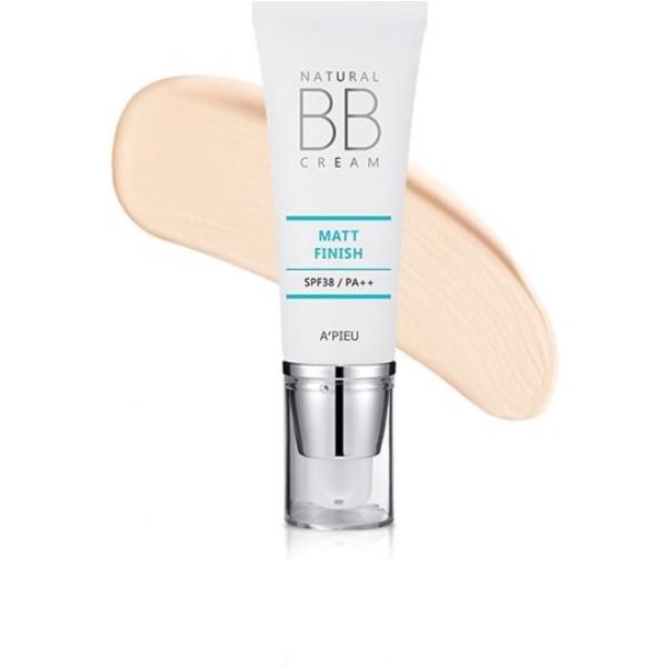 Купить APieu Natural Matt Finish BB Cream, A'Pieu