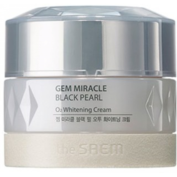 The Saem Gem Miracle Black Pearl O Whitening Cream -  Для лица