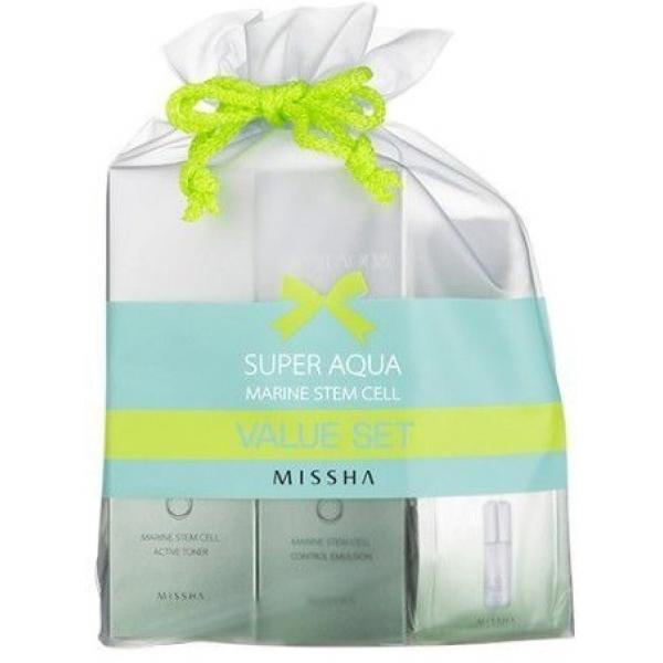 Купить Missha Super Aqua Marine Stem Cell Value Set