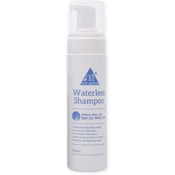 Haken Maruemsta Waterless ShampooСухой шампунь Maruemsta Waterless Shampoo на основе натуральных растительных компонентов отлично проявит себя в любой непредвиденной ситуации, когда совершенно нет времени на мытье и сушку волос. Станет идеальным помощником в длительном путешествии или деловой поездке, когда прическа потеряла былую свежесть, нет доступа к воде, а выглядеть хочется безупречно.<br><br>В состав этого шампуня включены натуральные абсорбирующие компоненты, которые поглощают излишки себума, устраняют неприятный жирный блеск. Нежная ароматическая отдушка придает ощутимое чувство свежести и комфорта.<br><br>Шампунь имеет мягкую пенообразную текстуру, которая без труда распределяется по поверхности волос. Эффективно очищает от пыли, устраняет перхоть и зуд.<br><br>Не содержит спирта и щелочи.<br><br>&amp;nbsp;<br><br>Объём: 200 мл<br><br>&amp;nbsp;<br><br>Способ применения:<br><br>Небольшое количество сухого шампуня нанести на волосы, произвести легкий массаж, остатки средства убрать с помощью полотенца.<br>