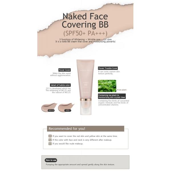 BB   Holika Holika Naked Face Covering BB