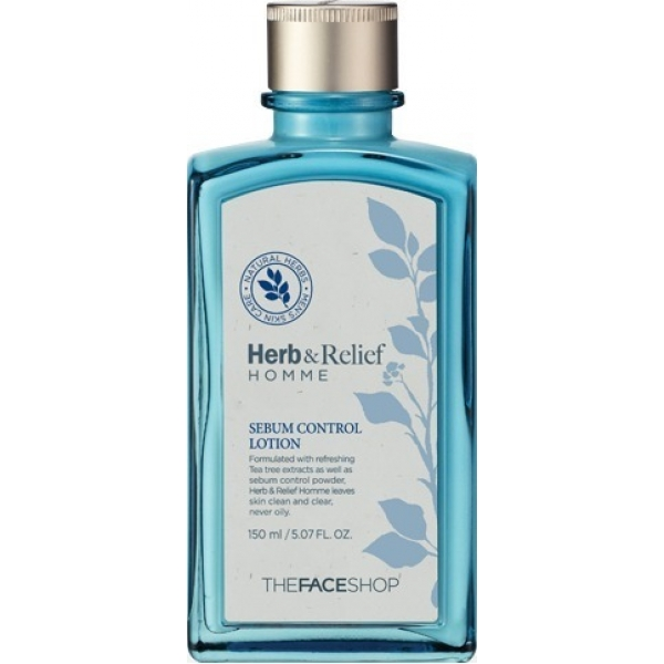 The Face Shop Herb and Relief Homme Sebum Control Lotion