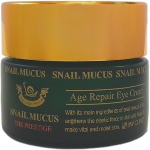 Купить W Clinic Snail Mucus Age Repair Eye Cream, 3W Clinic