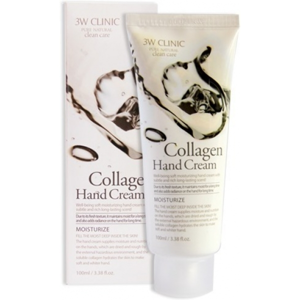 Купить W Clinic Hand Cream, 3W Clinic