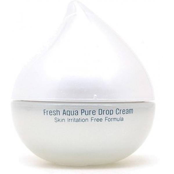 Tony Moly Fresh Aqua Pure Drop CreamЭтот питательный крем от производителя качественной корейской косметики Tony Moly рекомендован к использованию для увядающей кожи. Он не только превосходно борется с возрастными изменениями, но и замечательно эгализирует тон лица, немного его отбеливая.<br><br>Крем содержит богатый комплекс необходимых для здоровья кожи веществ. Он проникает глубоко в клетки, питая и наполняя их влагой. После использования кожа остается увлажненной 24 часа. Интенсивный уход также защищает кожу от агрессивного влияния неблагоприятных погодных условий. Средство убирает покраснения и раздражения.<br><br>Сыворотка обладает выраженным антивозрастным эффектом, оценить который можно после систематического ее использования. Результатом применения средства станет отдохнувшая, свежая, подтянутая кожа лица. В составе продукта содержится комплекс натуральных масел, в том числе масла бергамота, лайма, сосны, оливы, макадамии и эвкалипта. Также сыворотка обогащена экстрактом эластичных морских водорослей, которые являются мощнейшими антиоксидантами.Объём: 50 млСпособ применения:Рекомендуется использовать сыворотку на чистую кожу лица дважды в день: во время утренних процедур и перед сном.<br>