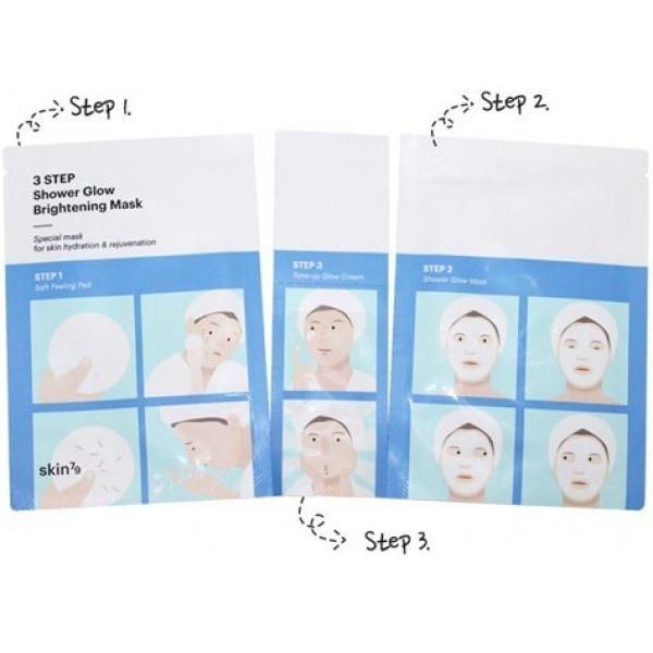 Skin Shower Glow Mask  Step