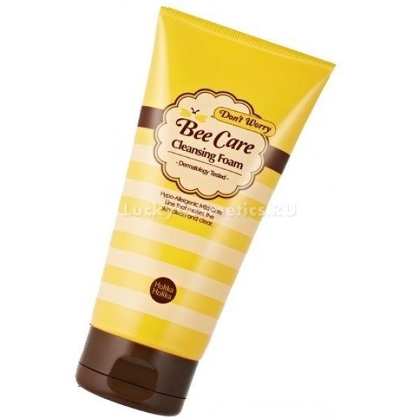 Купить Holika Holika Dont Worry Beecare Antitrouble Cleansing Foam
