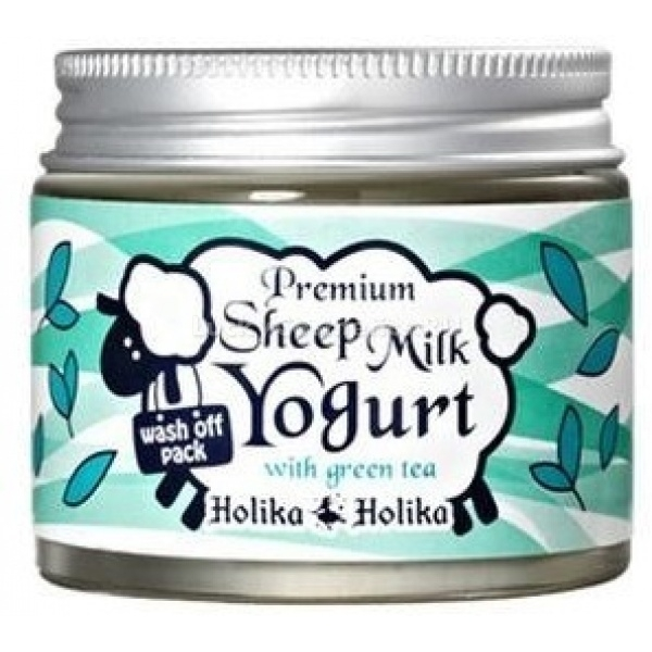 Купить Holika Holika Premium Sheep Milk Yogurt With Green Tea