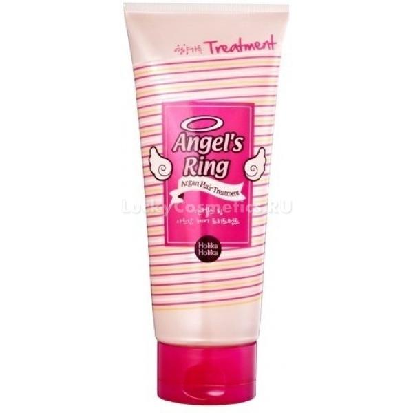 Лечащая маска для волос с аргановым маслом Holika Holika Angels ring Argan Hair Treatment