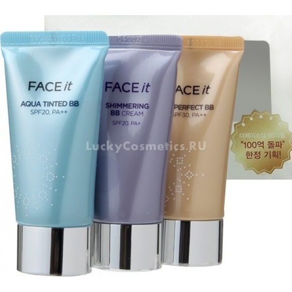 The Face Shop Face it best BB collection -  BB/CC кремы