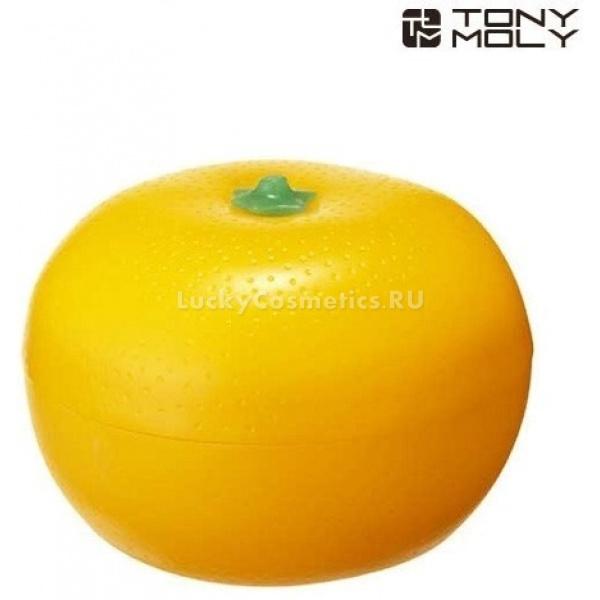 Tony Moly Tangerine hand creamВ этой милой баночке в форме мандарина вы найдете отличное увлажняющее и отбеливающее средство для придания вашим ручкам небывалой нежности.<br><br>Крем для рук содержит экстракты нескольких цитрусовых плодов, которые своим неповторимым ароматом напомнят вам об экзотических жарких странах, а тем, у кого запах мандарина ассоциируется с Новым Годом и Рождеством, будут навевать атмосферу праздника и приближения волшебной радости.<br><br>Полезный состав увлажняющего крема для рук Tangerine hand cream от Tony Moly<br><br><br>Масло семян дерева ши (карите) &amp;ndash; увлажняющее, смягчающее кожу масло, обладающее противовоспалительным и успокаивающим эффектом. Помогает заживлять ранки и мелкие трещины.<br>Масло оливы &amp;ndash; содержит мононенасыщенные жирные кислоты, витамины и микроэлементы, а также фитостеролы и полифенолы.<br>Экстракт мандарина &amp;ndash; богат витамином С, благодаря чему восстанавливает тонус и эластичность кожи, обладает отбеливающим и дренирующим свойствами.<br>Экстракты лайма и лимона &amp;ndash; стимулируют циркуляцию крови в капиллярах, обеззараживают и отбеливают благодаря аскорбиновой кислоте, витамину Р, флавоноидам и лимонной кислоте.<br>Экстракт абрикоса &amp;ndash; отличается высокой концентрацией ароматических и дубильных веществ, а также витаминов В1, В2 и В15.<br><br><br>&amp;nbsp;<br><br>Объём: 30 г<br><br>&amp;nbsp;<br><br>Способ применения:<br><br>Наберите несколько капель крема на чистые руки и массирующими движениями распределяйте по коже. Затем подушечками пальцев похлопайте по равномерному слою крема, чтобы улучшить проникновение в эпидермис.<br>