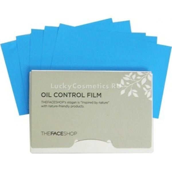 The Face Shop Oil control filmМатирующие салфетки Oil control film от The Face Shop представляют собой микропористые плёночки с уникальной степенью поглощения. Эти матирующие салфетки помогут вам:<br><br><br>абсорбировать излишек кожного сала;<br>сделать лицо свежим и чистым;<br>придать коже матовость;<br>предотвратить закупоривание пор.<br><br><br>The Face Shop Oil control film можно применять как до нанесения косметики, так и после &amp;ndash; матирующие салфетки не испортят макияж. К тому же их очень удобно носить в вашей сумочке.<br><br>&amp;nbsp;<br><br>Объём: 50 шт.<br><br>&amp;nbsp;<br><br>Способ применения:<br><br>Осторожно приложите к коже салфетку и, лёгко промокнув лицо, дайте впитаться излишку кожного жира.<br>