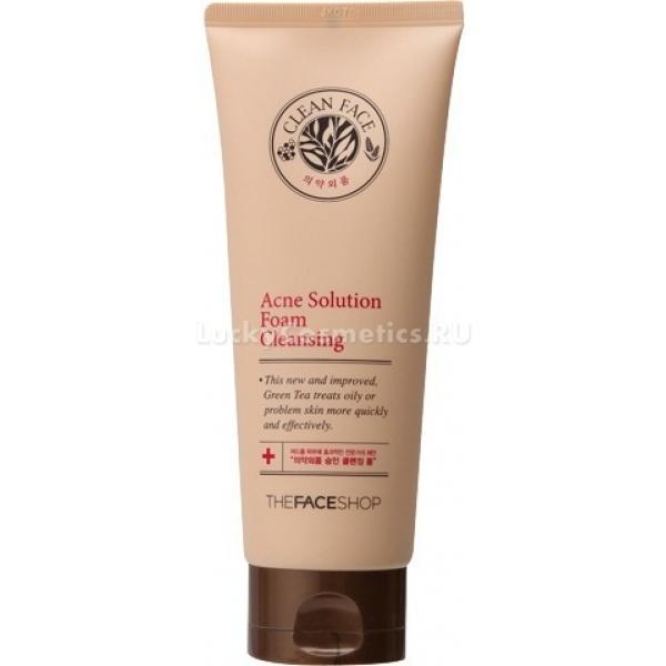 The Face Shop Clean Face Acne Solution Foam Cleansing ml -  Для лица -  Очищение