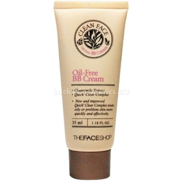 The Face Shop Clean OilFree BB Cream ml