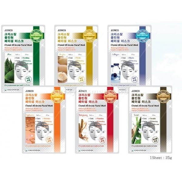 Mijin Cosmetics Junico Crystal Allinone Facial Mask ArganМасло арганового дерева - кладезь витаминов, ненасыщенных жирных кислот и антиоксидантов для питания вашей кожи. Оно отлично смягчает кожу, защищает ее от холодного ветра, перепада температур, химических загрязнений, содержащихся в воздухе. Кроме того, аргановое масло используется для лечения проблемной, шелушащейся кожи и является отличной профилактикой возникновения шрамов при ожогах или акне.<br><br>Маска Facial Mask Argan на основе из мягкой тканевой материи пропитана кремообразной эссенцией с маслом аргана. Легкая текстура пропитки быстро впитывается и моментально воздействует на кожу, а гипоаллергенный нежный материал основы не вызовет дискомфорта даже при использовании на чувствительной коже.<br><br>&amp;nbsp;<br><br>Объём: 24 мл<br><br>&amp;nbsp;<br><br>Способ применения:<br><br>Маска накладывается на чистую кожу, тщательно расправляется и остается для воздействия на двадцать минут. Спустя положенное время, тканевую основу аккуратно снять, а остатки аргановой пропитки оставить на лице. Когда масло впитается, можно наносить ежедневный макияж, при этом необязательно использовать дневной крем, поскольку кожа получила необходимое питание и увлажнение на целый день.<br>