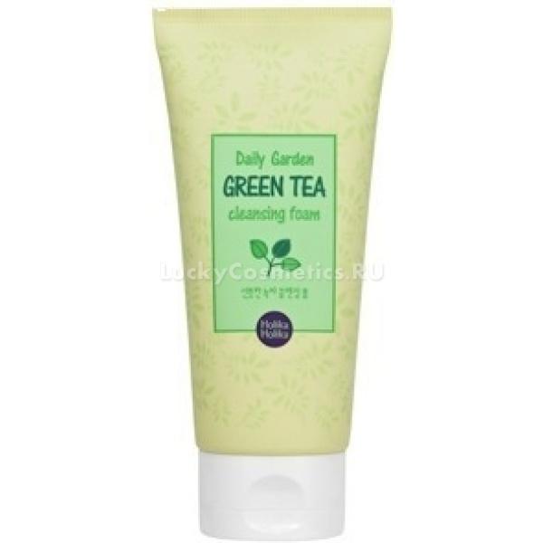 Купить Holika Holika Daily Garden Green Tea Cleansing Foam