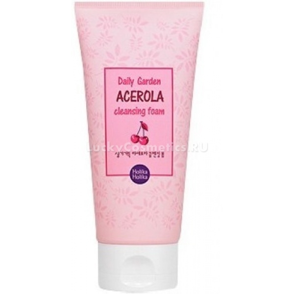 Купить Holika Holika Daily Garden Acerola Cleansing Foam