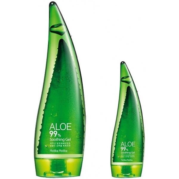 Многофункциональный крем для лица и тела Holika Holika Aloe All Over Soothing GelАлоэ &amp;ndash; богатейший источник витаминов, аминокислот и микроэлементов, так необходимых нашей коже. Кроме того, оно невероятным образом подходит любой коже, справляясь с массой задач: успокаивает, смягчает, очищает, освежает, тонизирует и даже лечит. Благотворно влияет на угревую сыпь, лечит солнечные ожоги. В геле от Holika Holika содержится 99% настоящего сока алоэ!<br><br>Использовать алоэ можно всевозможными способами для всего тела: в качестве крема, маски, успокаивающего геля после бриться, тритмента для волос, маски для снятия усталости век, крема для тела, рук, ногтей, ног, средства от ожогов и увлажняющего средства на каждый день. Настоящая панацея от сотни проблем!<br><br>&amp;nbsp;<br><br>Объём: 300 мл<br><br>&amp;nbsp;<br><br>Способ применения:<br><br>Гель наносится на предварительно очищенную (обязательно!) кожу массажными движениями.<br>