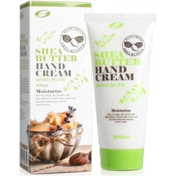 Baekoksen Shea Butter Hand CreamКрем для рук на основе масла карите – это высокоэффективное средство для полноценного ухода за сухой и тусклой кожей. Продукт корейского бренда обладает выраженным защитным и смягчающим действием. Вы заметите потрясающие результаты в виде бархатной и мягкой кожи уже после первых применений.<br><br>Природные компоненты, содержащиеся в составе крема, стимулируют регенерацию клеток дермы, способствуют производству собственного коллагена. Косметическое средство блокирует негативное действие ультрафиолета, предупреждая старение кожи и предотвращая формирование пигментных пятен.<br><br>В масле карите, главном действующем компоненте крема, в изобилии содержатся жирные кислоты, которые предупреждают огрубения и шелушения, восстанавливают естественный гидролипидный баланс кожи. Легкий по текстуре крем мгновенно впитывается и не оставляет дискомфорта в виде неприятной жирности и липкости. Насыщая клеточки дермы полезными веществами, средство интенсивно ухаживает и омолаживает кожу рук.Объём: 100 млСпособ применения:Немного крема нанесите на кожу рук втирающими движениями. Больше внимания уделите сухим, огрубевшим участкам. Дайте впитаться.<br>