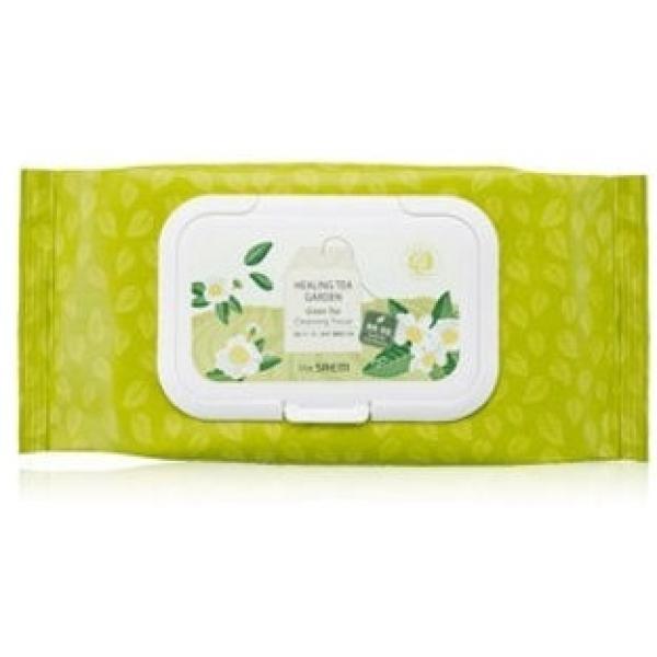 Holika Holika Daily Garden Bosung Green Tea Seed Oil Cleansing TissueНезаменимые салфетки для быстрого очищения от косметики кожи лица. Помогают быстро избавиться от макияжа при отсутствии условий для использования пенок, гелей и других средств для снятия косметики.<br><br>В представленных салфетках главными компонентами являются экстракты семян и листьев зеленого чая, которые способствуют увеличению объемов синтеза коллагена для клеточного матрикса, а также стягивают поры, утратившие эластичность и неспособные закрыться полностью. Экстракты семян шишек и цветов лотоса помогают восстанавливать кожу после длительного ношения макияжа.<br><br>&amp;nbsp;<br><br>Объём: 50 шт.<br><br>&amp;nbsp;<br><br>Способ применения:<br><br>Приложите очищающую салфетку на несколько минут к лицу в местах со стойкой косметикой, промокните ею губы, веки, брови и ресницы. После этого протрите участки, где косметические средства впитались в салфетку не полностью и ополосните лицо водой. Если нет возможности умыться с гидрофильным маслом или использовать молочко для демакияжа, очищающие салфетки можно использовать для снятия ББ-основ с кожи.<br><br>Осторожно: не допускайте контакта салфеток с глазами.<br><br>Не забывайте закрывать крышку упаковки, чтобы салфетки не высохли!<br>
