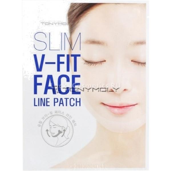 V  Tony Moly Slim Fit Face Line Patch