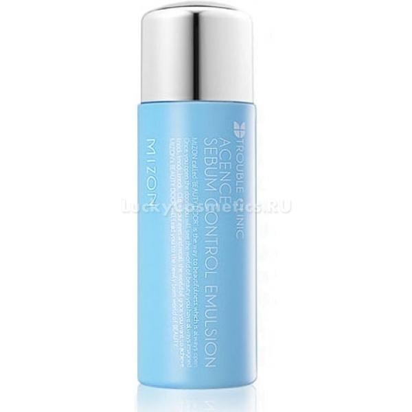 Матирующая эмульсия Mizon Acence sebum control emulsion 150 mlОдно из главных средств из серии Acense от Mizon, действие которой направлено на решение проблем с жирной кожей, является третьим шагом в борьбе с излишними выделениями пор (себумом). Acence Sebum Control Emulsion отлично подходит для жирного и комбинированного типов кожи, отличающихся особой чувствительностью.<br><br>Прежде всего, в данной эмульсии отсутствуют жиросодержащие компоненты, чтобы не добавлять к уже присутствующему на лице жировому слою лишнего. Это свойство помогает при летнем зное, когда выработка кожных выделений достигает пика, а также позволяет использовать эмульсию при лечении демодекоза (когда присутствие лишнего жира только усугубляет болезнь).<br><br>Эмульсия быстро растворяет и удаляет нежелательный себум, оставляя гладкую кожу, поры которой очищаются и сужаются под действием стягивающих растительных экстрактов. Берёзовый сок осветляет и выравнивает тон кожи, а экстракт листьев белой ивы регулирует обильность работы сальных желез.<br><br>&amp;nbsp;<br><br>Объём: 150 мл<br><br>&amp;nbsp;<br><br>Способ применения:<br><br>Матирующую эмульсию можно использовать два раза в день &amp;mdash; утром и вечером, чтобы регулировать кожные выделения круглые сутки и предотвратить закупорку пор и возникновение воспалений. Чтобы аккуратно нанести её на лицо, используйте ватный диск &amp;mdash; заполните его средством и натирайте круговыми движениями кожу. Вы сразу заметите, как он заполнился загрязнениями, и при необходимости повторите процедуру.<br>